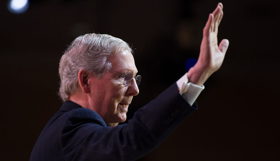 Mitch McConnell named 'most consequential politician of the decade' for all the worst reasons