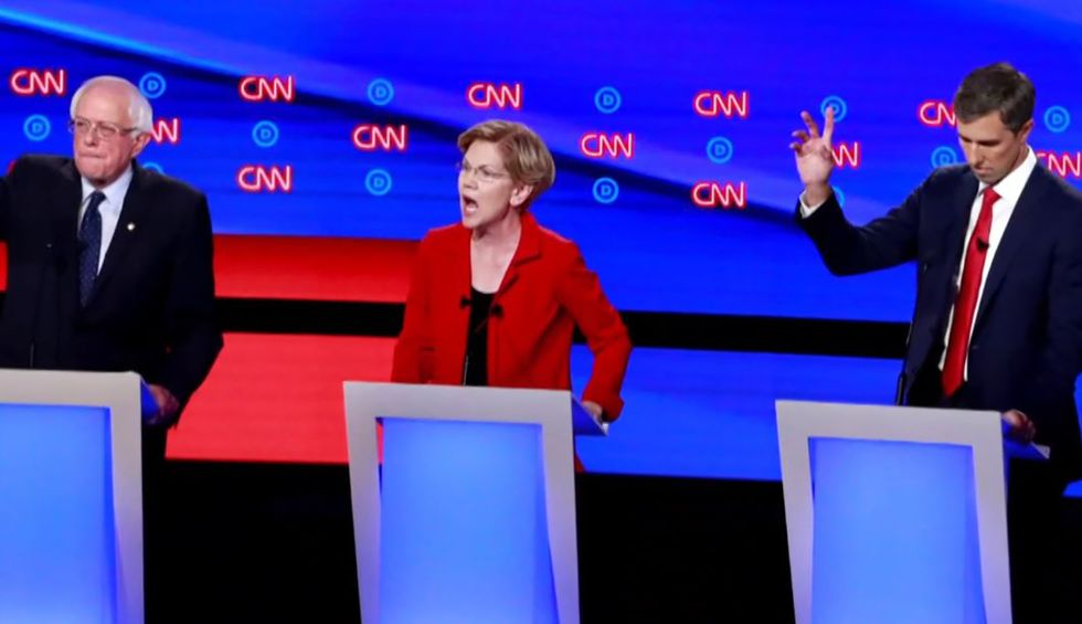 The Democrats could have an all-white debate this month — thanks to the media's mistaken obsession