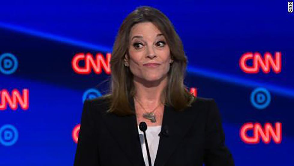 Watch Marianne Williamson's epic takedown of conservative on HBO's Real Time