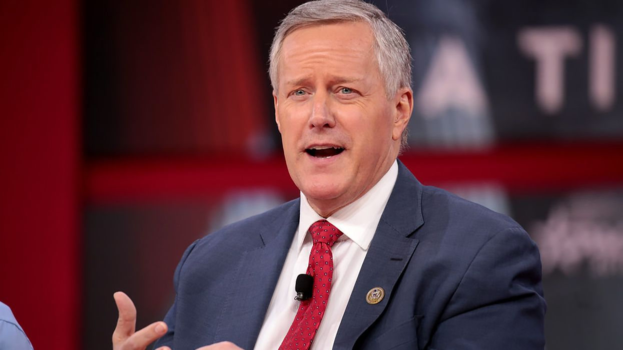 Mark Meadows gets caught in a Twitter storm after lashing out at Fauci over COVID death toll