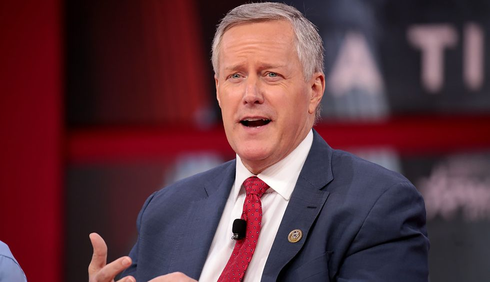 Legal experts say administration officials violated the Hatch Act during the GOP convention. Mark Meadows dismisses those concerns as 'hoopla'