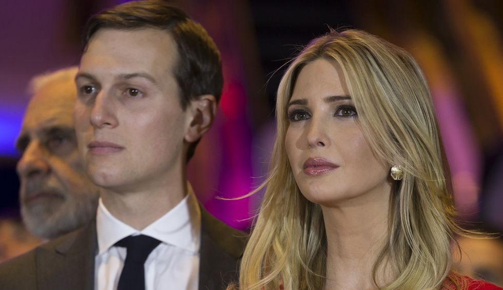 Ivanka Trump and Jared Kushner officially register as Republicans