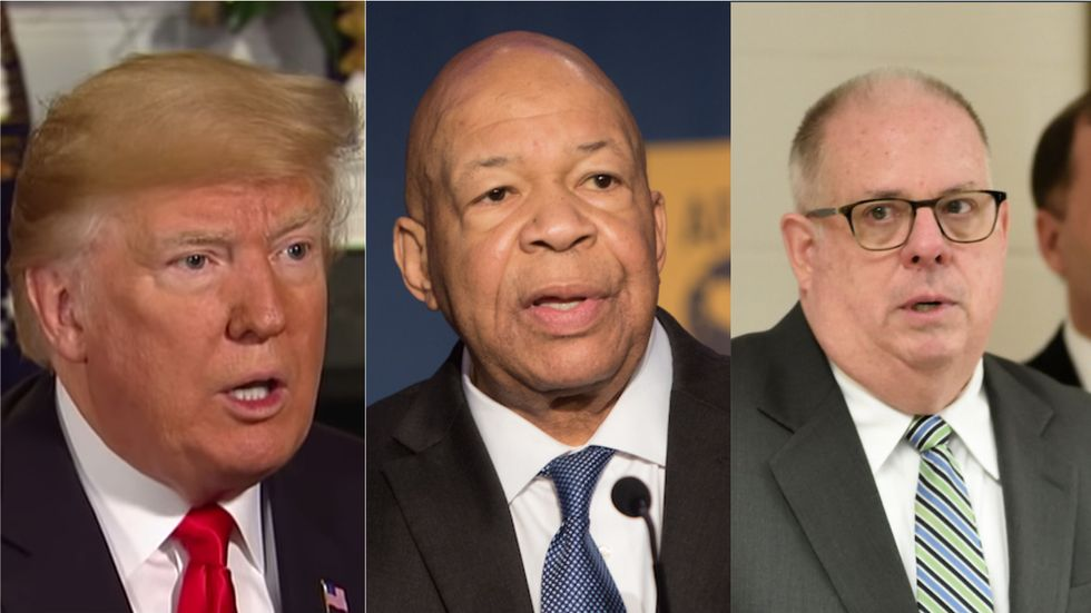 A top Republican just denounced Trump's 'outrageous and inappropriate' attacks on Elijah Cummings