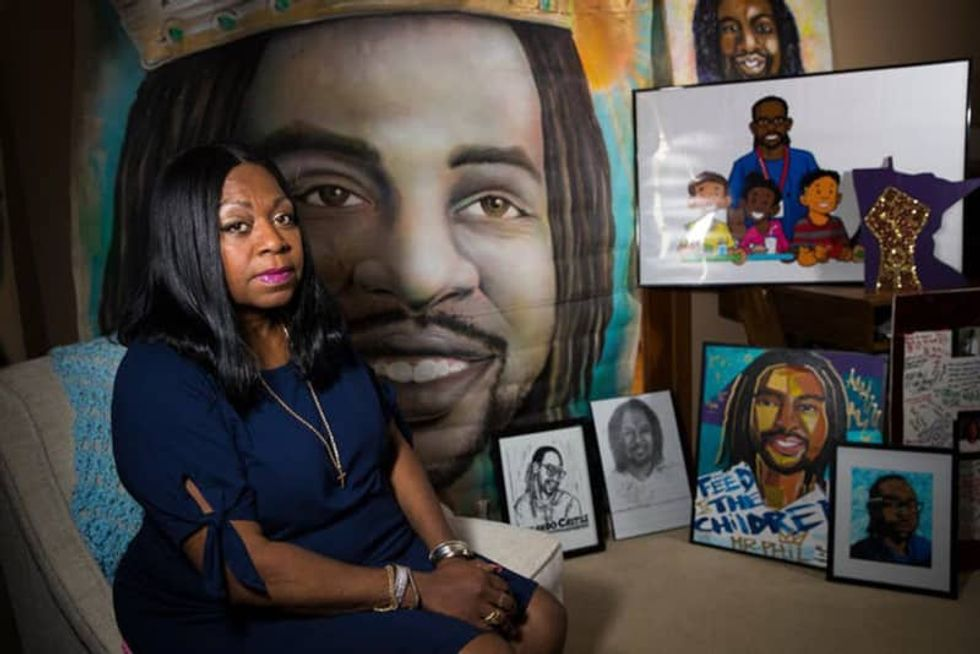 For mother of Philando Castile, George Floyd's death a nightmare revisited