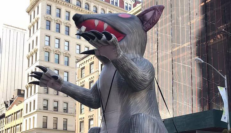 Republicans want to exterminate beloved union symbol, Scabby the Rat