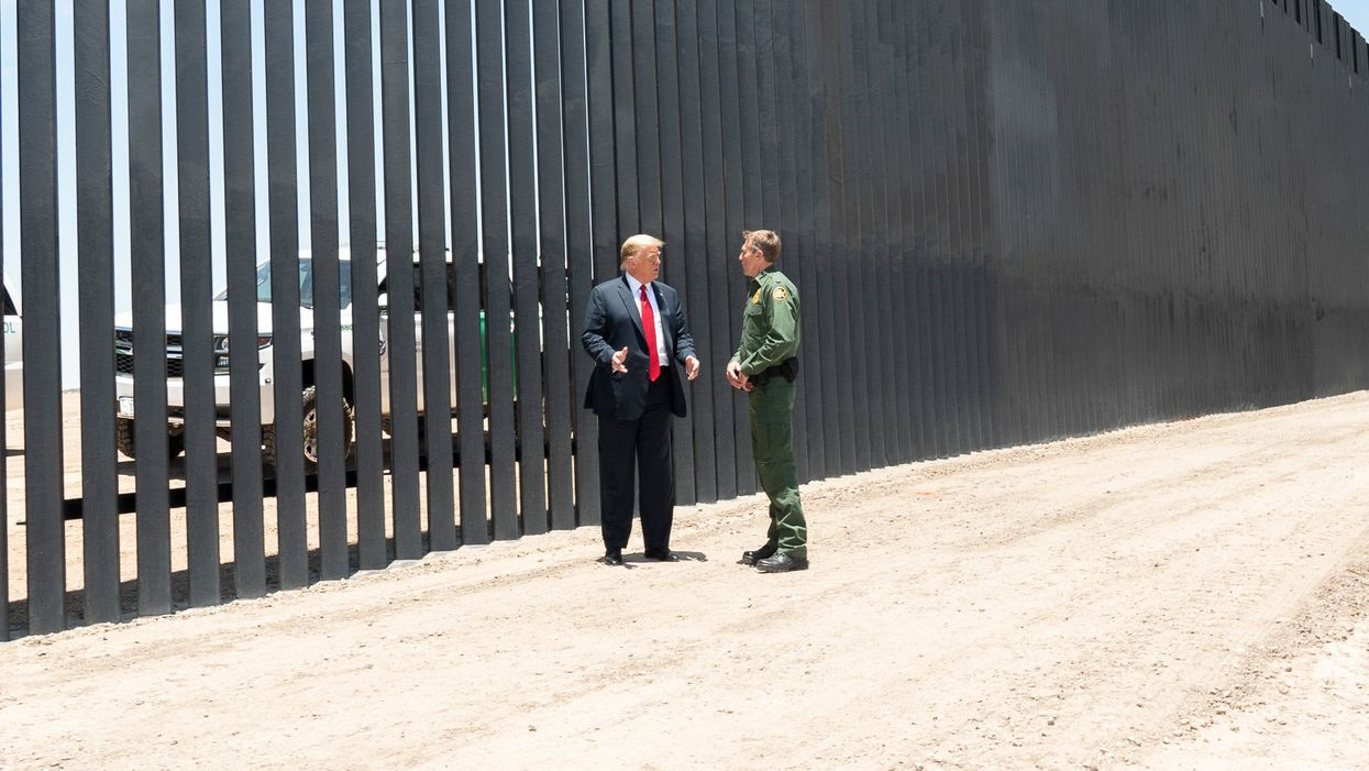 $2 billion swindled by Trump admin for border wall construction returned to Pentagon