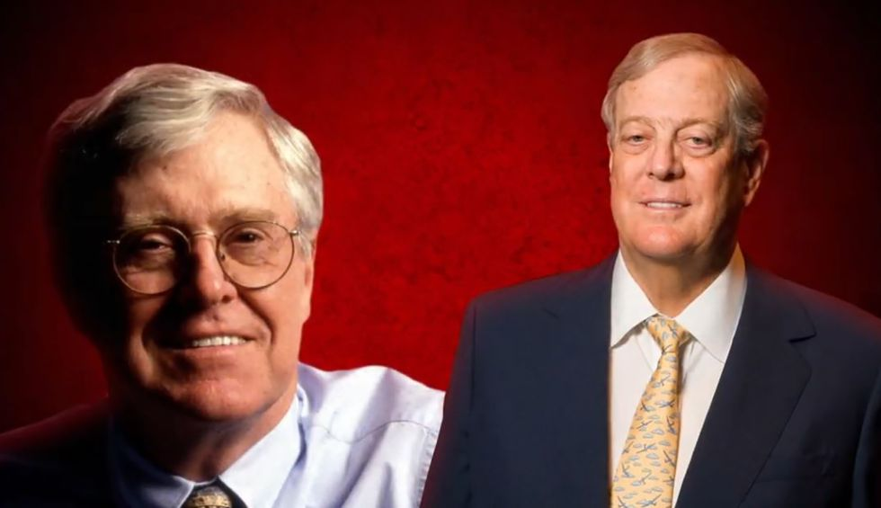 Long before Charles and David Koch, these oligarch brothers funded right-wing politics