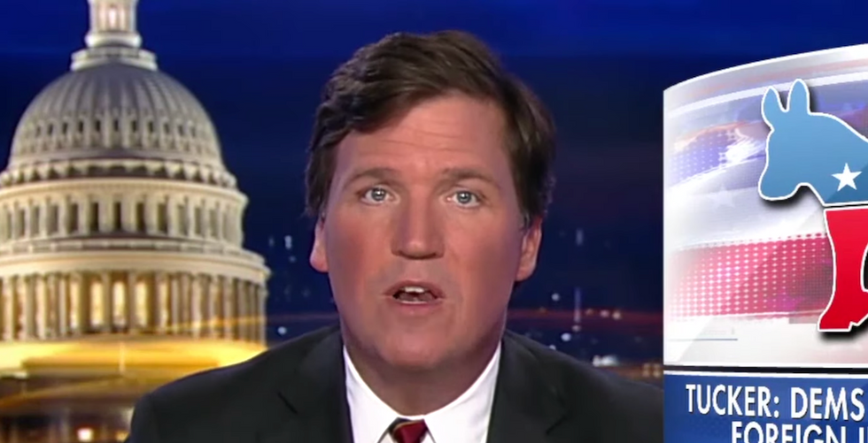 David Duke praised Fox News' Tucker Carlson for calling white supremacy a 'hoax' — now the host is 'taking several days off'