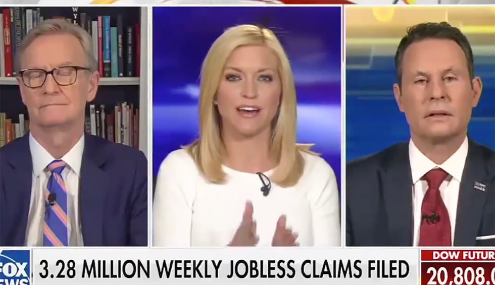 'Beyond parody': Fox News host blasted for saying 'people are dying' — but my friends 'can't get their nails done'