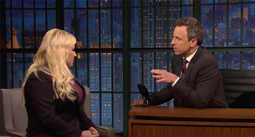Watch Seth Myers calmly dismantle Meghan McCain's irresponsible attacks on Rep. Ilhan Omar