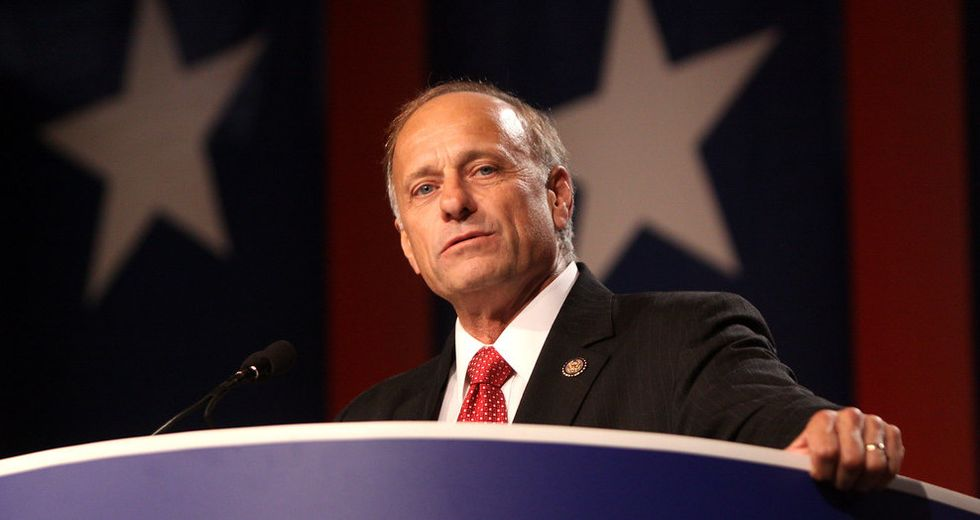 Racist GOP Rep. Steve King's campaign is very, very close to broke as fellow Republicans shun him