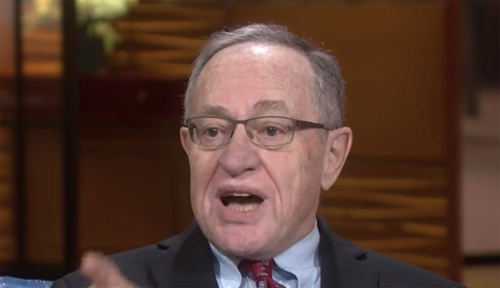 'Shared psychosis': A psychiatrist explains how Trump's madness infected Alan Dershowitz