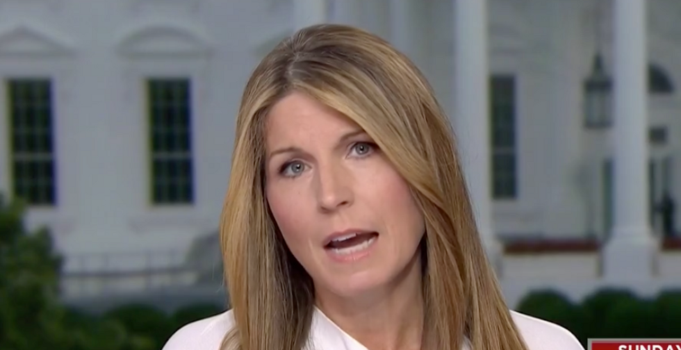 MSNBC's Nicolle Wallace explains what triggered the day's 'presidential unraveling'