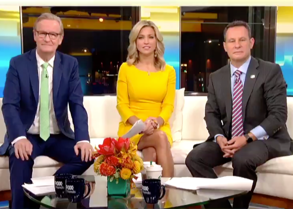Fox News Host Deletes Tweet After Getting Mocked for Complaining Interviewer 'Peppered' Trump 'Endlessly' with Questions