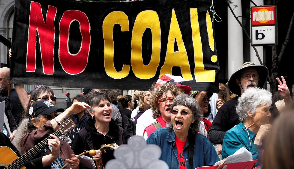 Trump was elected on promises to boost the coal industry and halt the transition to electric cars. It's not working