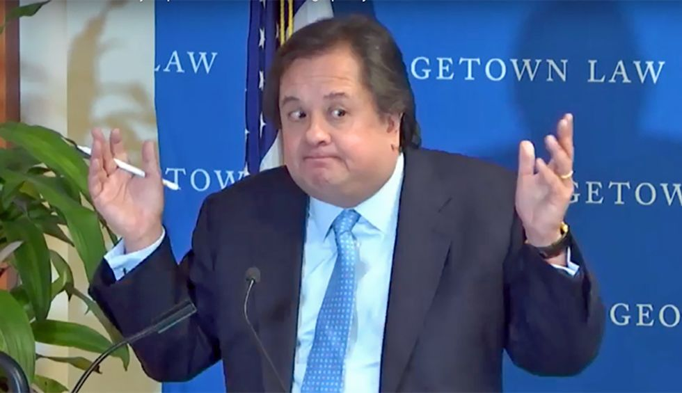 Conservative attorney George Conway explains why he is 'deeply saddened' by GOP antics during Trump's impeachment trial