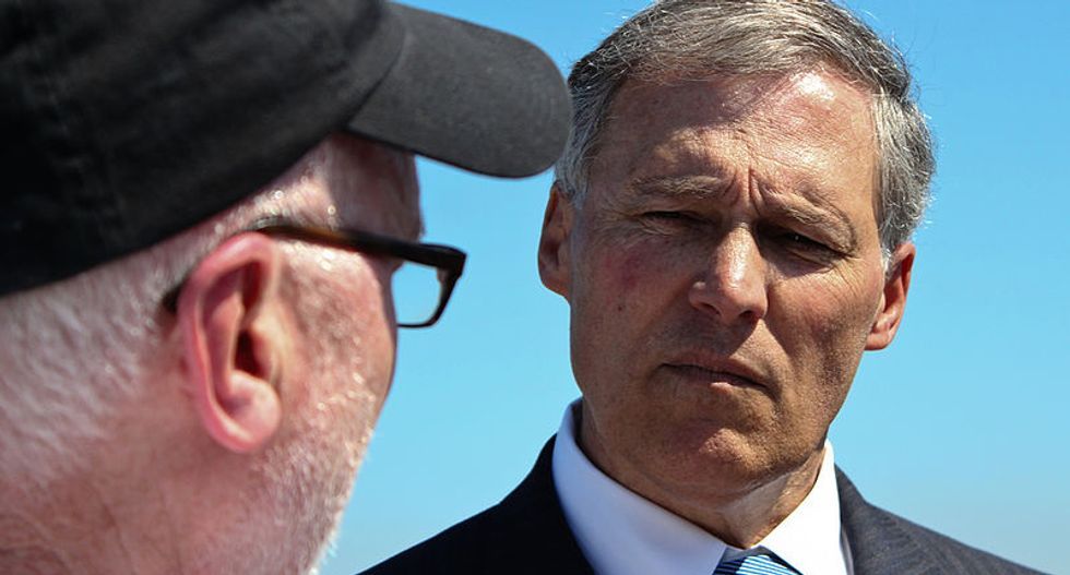 Washington State Governor Jay Inslee signs statewide ban on fracking Bernie Sanders calls for national prohibition