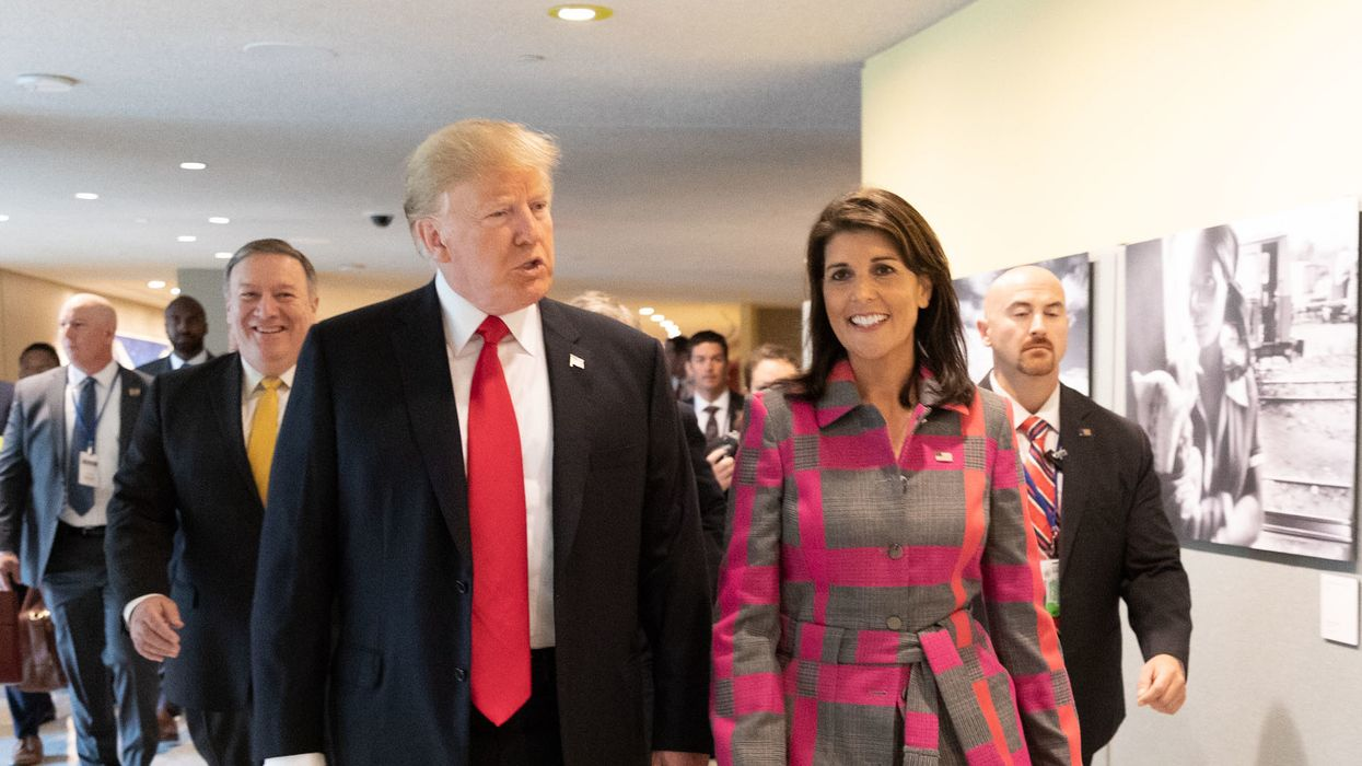 Nikki Haley buckles again to Trump in her latest humiliating surrender