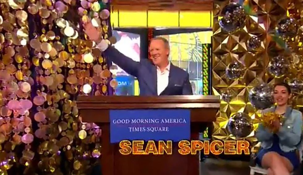 'Was Goebbels unavailable?': ABC blasted for 'normalizing fascism' by putting Sean Spicer on 'Dancing With the Stars'