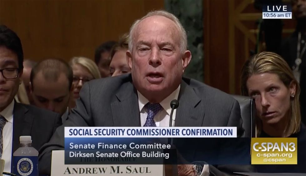 Social Security commissioner invested in company that makes COVID test touted by Trump