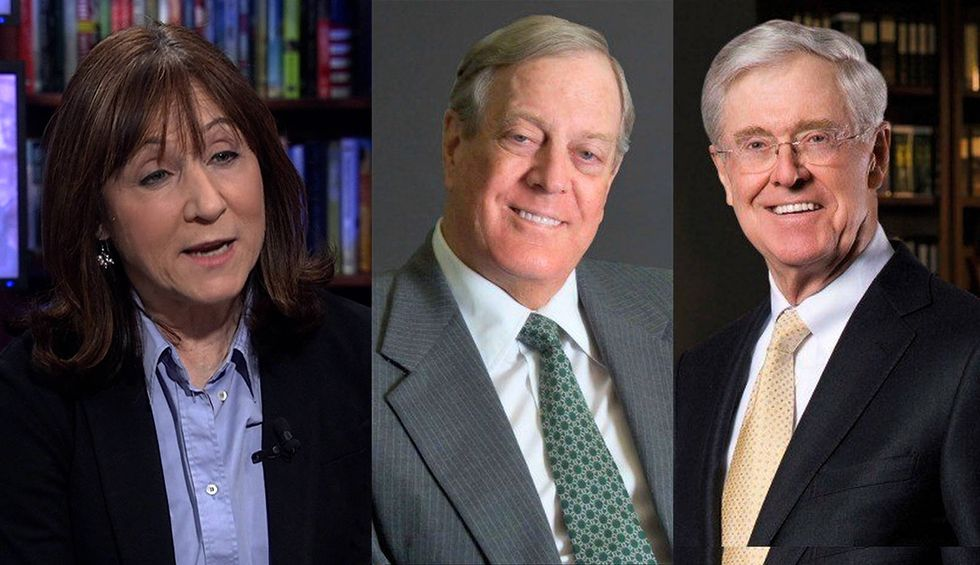 Dark Money: How the Koch Bros. and billionaire allies funded the rise of the far right