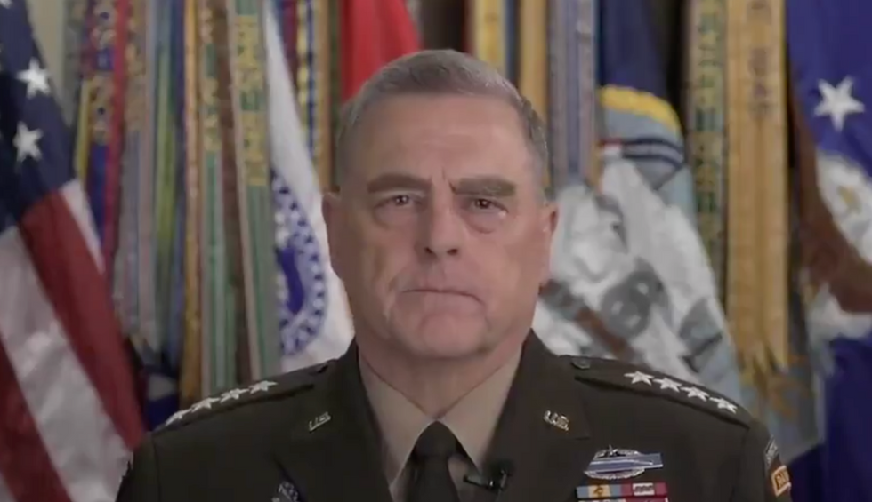 A top military official just said he made a 'mistake' participating in Trump's disastrous photo-op