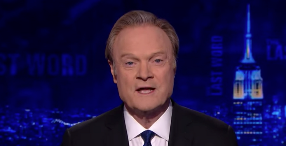 Lawrence O'Donnell's botched 'scoop' gave Trump a giant gift