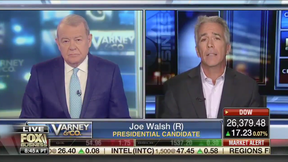 'That's not a lie!': Fox Business host fumes when cornered with a blatant example of Trump's dishonesty