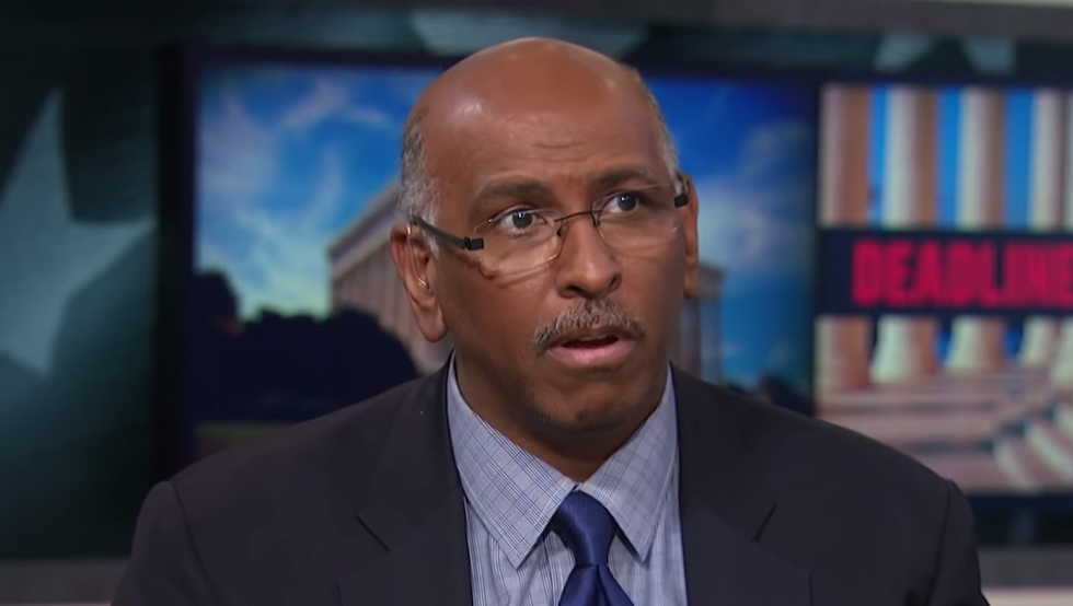 Former RNC Chairman Michael Steele schools Trump on the fact that absentee voting and voting by mail 'are the same thing'