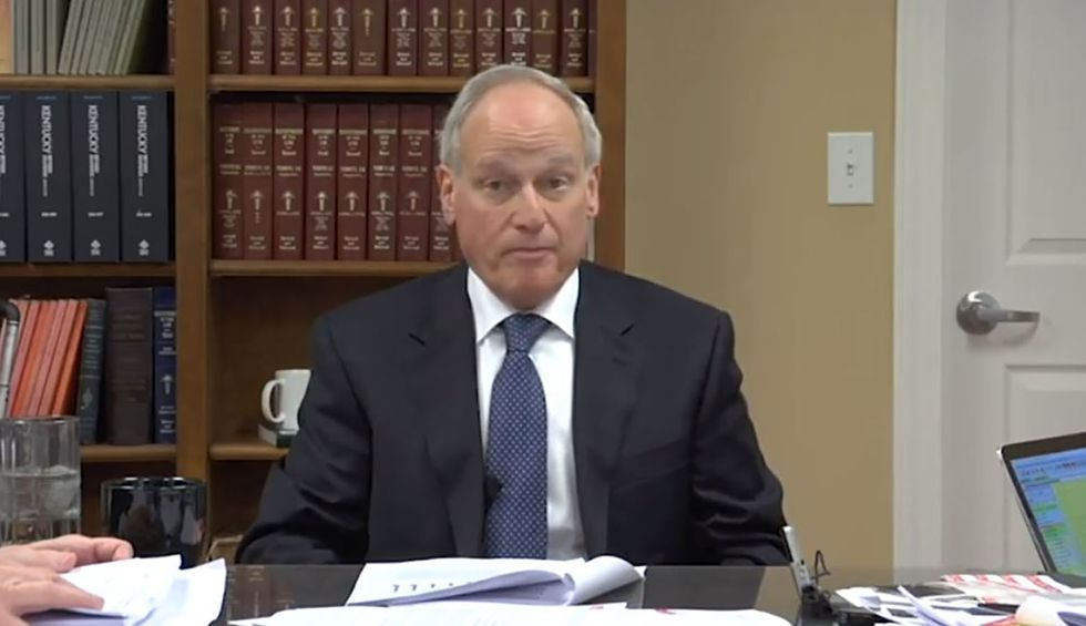 Watch Richard Sackler deny his family's role in the opioid crisis