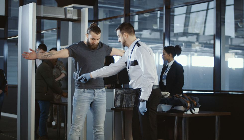 TSA's body scanners are gender binary. Humans are not.