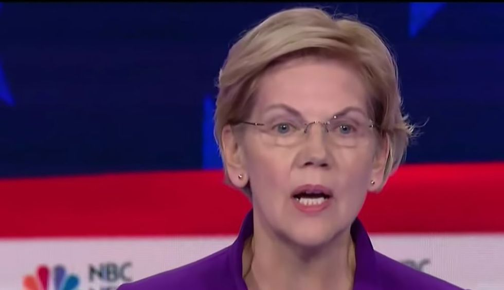 Warren climate plan would repeal tax cuts for rich
