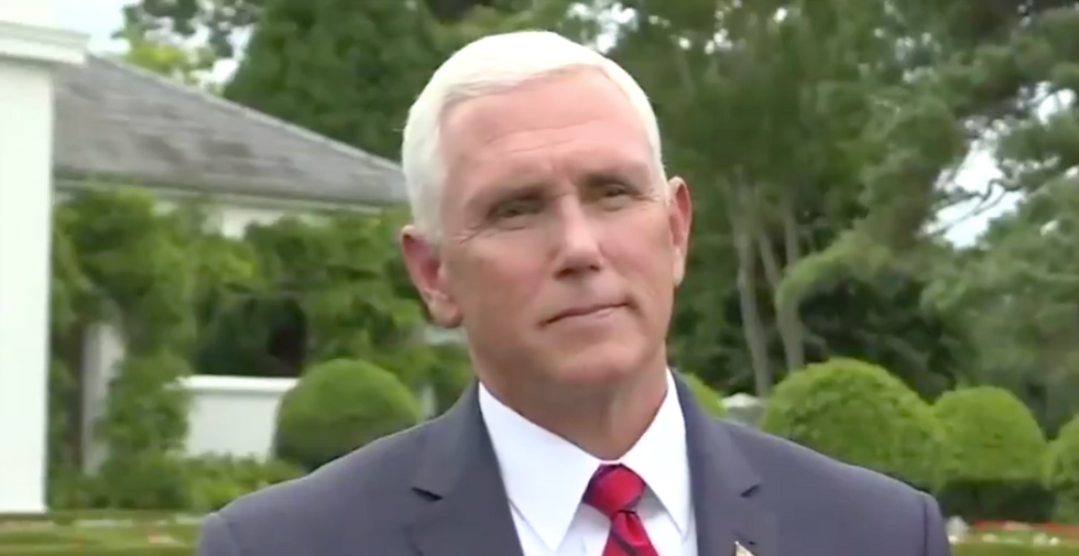 Trump's open corruption is completing debasing the federal government — Pence is just the latest example