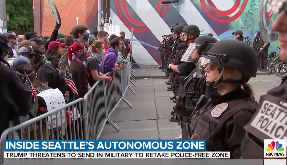 The story that conservatives are getting about Seattle's autonomous zone is complete fiction