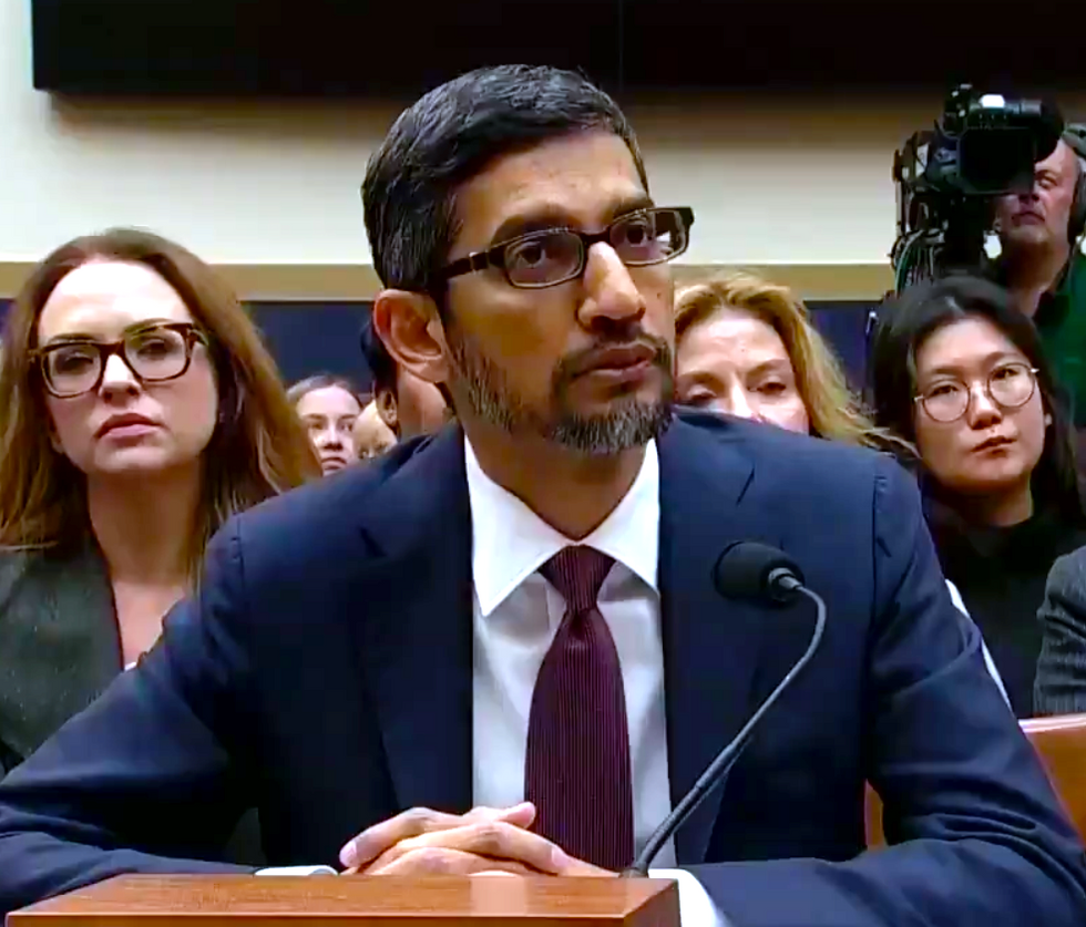 Lawmakers humiliate themselves by peppering Google CEO with embarrassingly uninformed questions