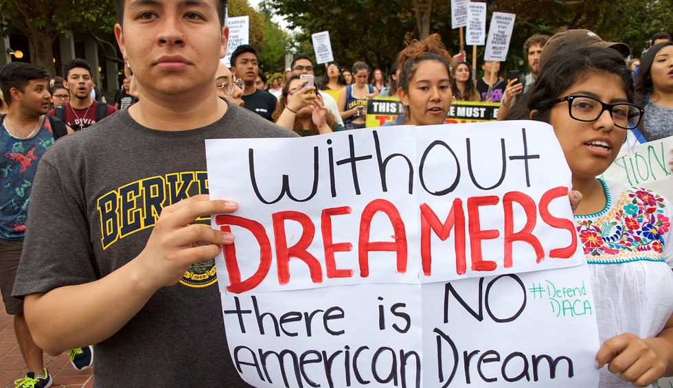 A Dreamer opts for 'self-deportation': It's an important moment