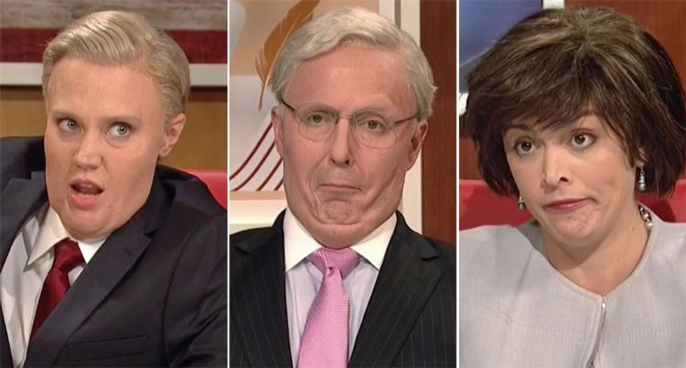 SNL mocks the hell out of GOP's Lindsey Graham, Mitch McConnell and Susan Collins over their blatant hypocrisy