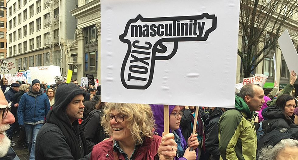 The paradox of toxic masculinity: Why gender norms are set up to privilege straight white men — who in turn 'are eating themselves alive'