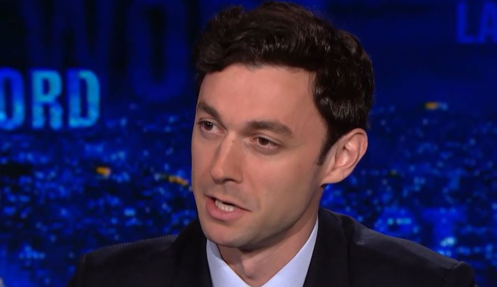 Jon Ossoff announces Senate run against Georgia's David Perdue