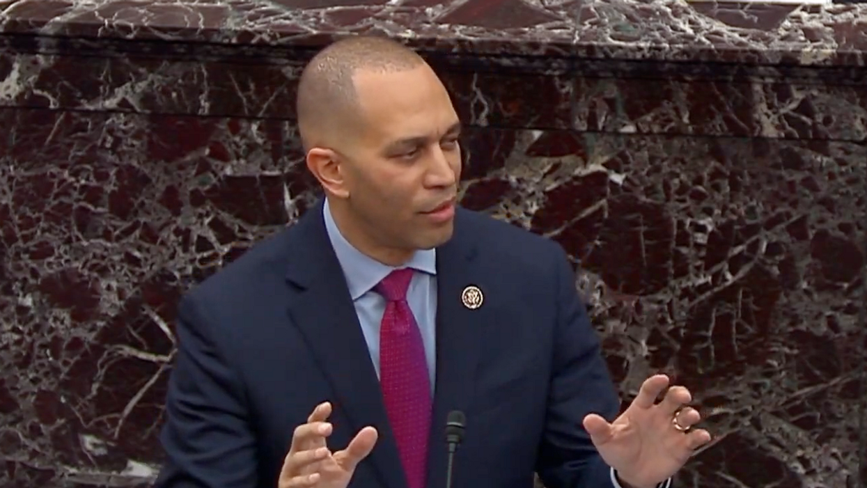 Watch: Hakeem Jeffries slams GOP rep's hypocritical call for 'unity' after he voted to overturn the election