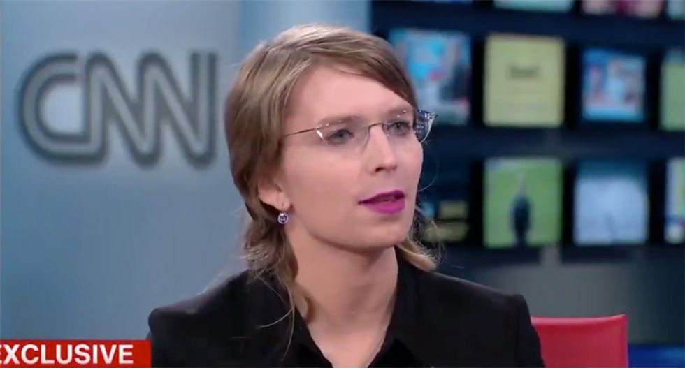 Chelsea Manning warns the Trump Administration 'clearly wants to go after journalists'