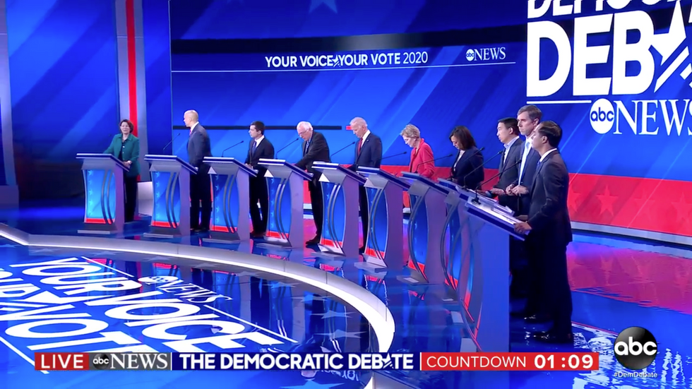 Here are the 4 winners and 3 losers of the Democratic primary debate