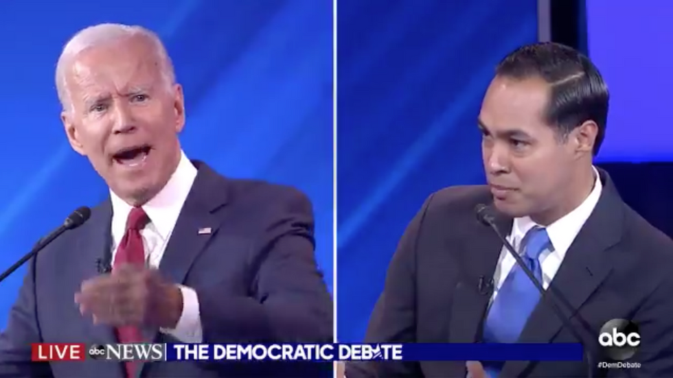 Julián Castro slams Joe Biden and suggests his memory is failing: 'Are you forgetting what you said two minutes ago?'