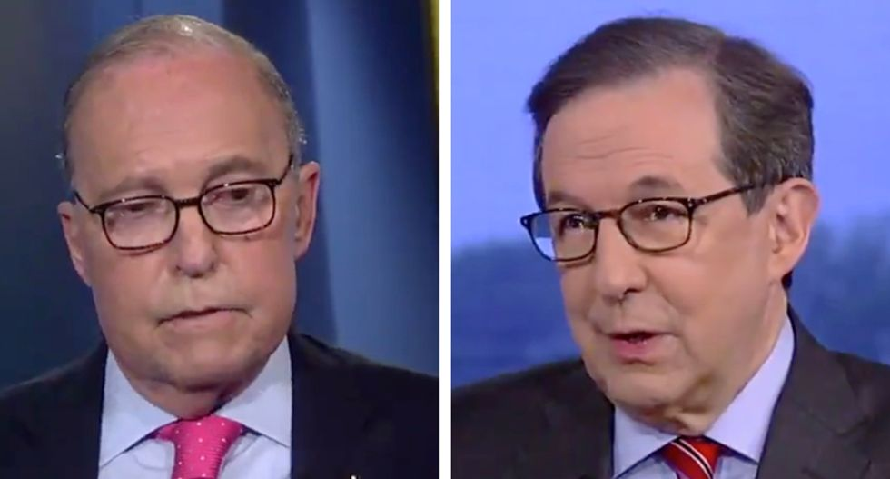Fox News' Chris Wallace confronts Larry Kudlow over Trump's bogus claim that China will pay for tariffs: 'That isn't true'