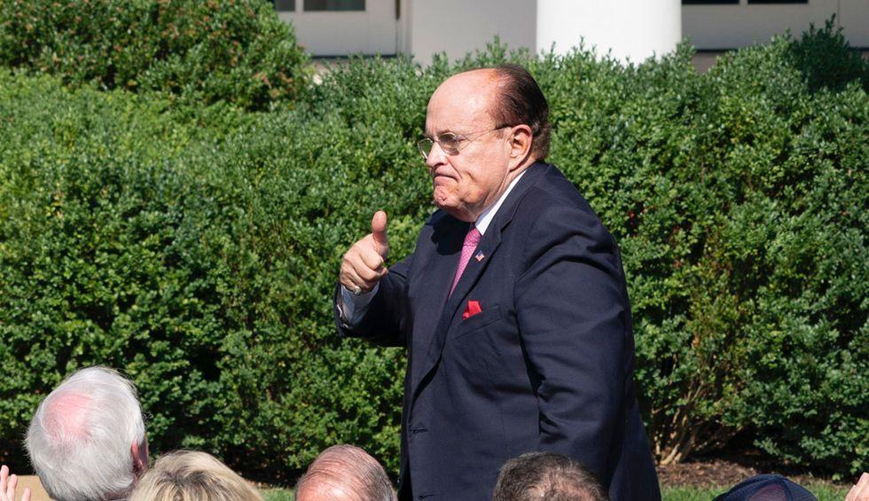 Law Professor offers sage advice to House Democrats: Arrest Rudy Giuliani