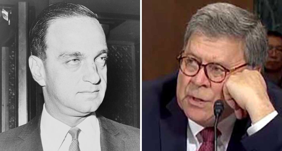 Carl Bernstein explains how Bill Barr abandoned his role as AG to serve the president: 'Trump said he wanted his Roy Cohn — he's got him now'