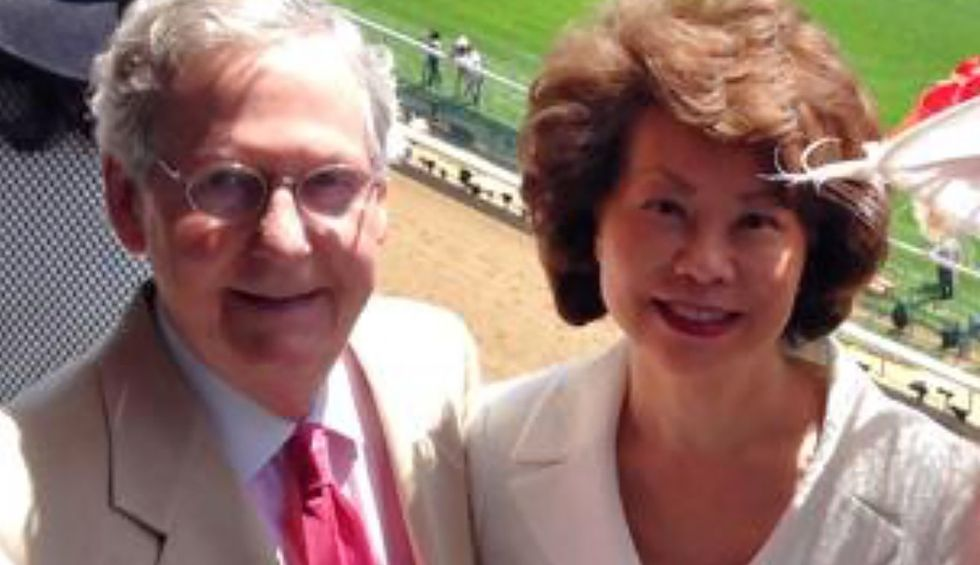 House Oversight Committee demands Chao hand over documents on interactions with family business