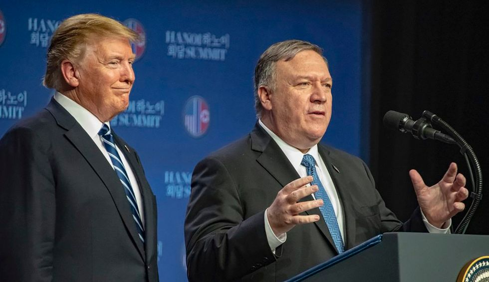 Trump hits NPR with veiled threat after Pompeo blow-up with reporter over Ukraine