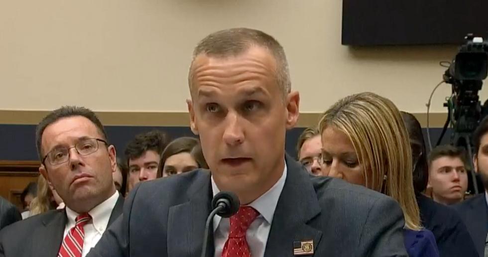Democratic lawmaker erupts at Corey Lewandowski for his petty display of open disrespect during Mueller report hearing