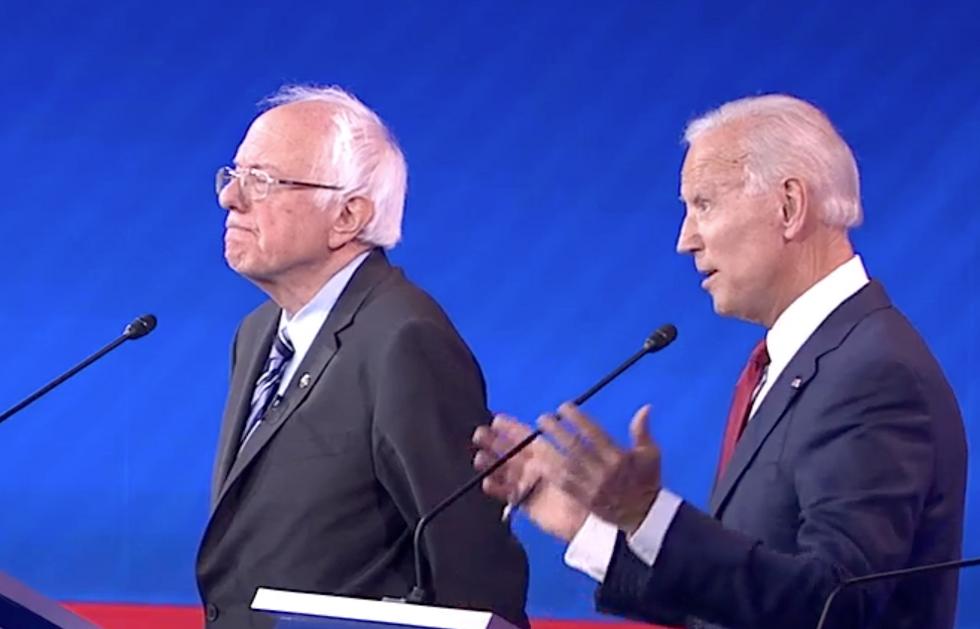 How the coronavirus pandemic may be helping Joe Biden lock down the Democratic nomination